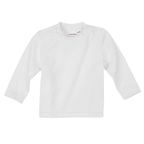 Bornino BASICS Nicki-Shirt langarm  weiß 1
