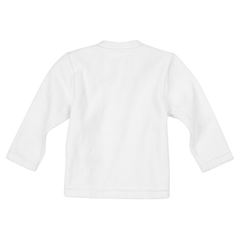 Bornino BASICS Nicki-Shirt langarm  weiß 2