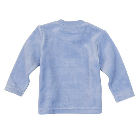 Bornino BASICS Nicki-Shirt langarm  blau 2