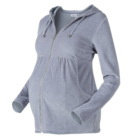 achat le plus récent professionnel de la vente à chaud grand assortiment STAR COLLECTION La veste de grossesse à capuche