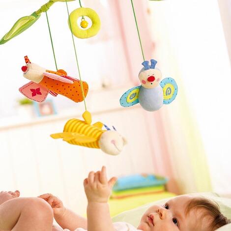 haba mobile bl tenfalter online kaufen baby walz. Black Bedroom Furniture Sets. Home Design Ideas