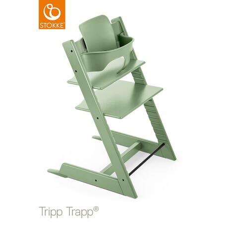 StokkeR TRIPP TRAPPR Chaise Haute Evolutive Moss Green