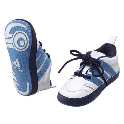 adidas Babyschuhe weiß/blau