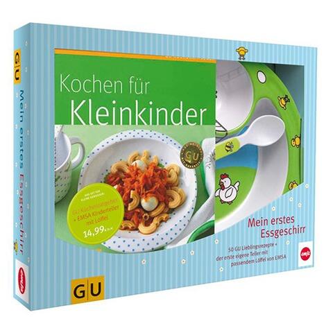 4cd364509925ca GU Set Kochen für Kleinkinder - Kochbuch + Geschirr online kaufen ...