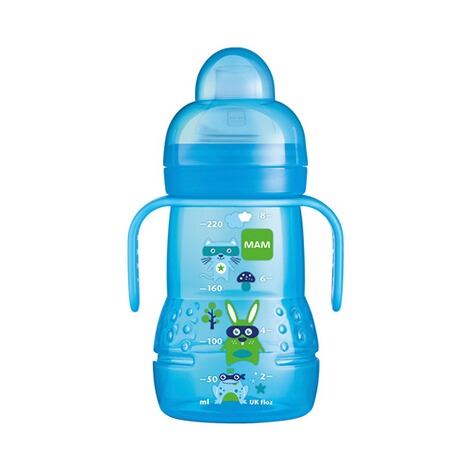 mam trinklernflasche mit griffen trainer 220ml online kaufen baby walz. Black Bedroom Furniture Sets. Home Design Ideas