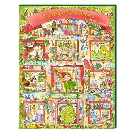 CARLSEN. Themenbuch Weihnachten Pixi Adventskalender Mit ...