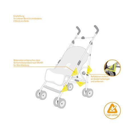 diago 2er pack reflektoren f r kinderwagen online kaufen. Black Bedroom Furniture Sets. Home Design Ideas