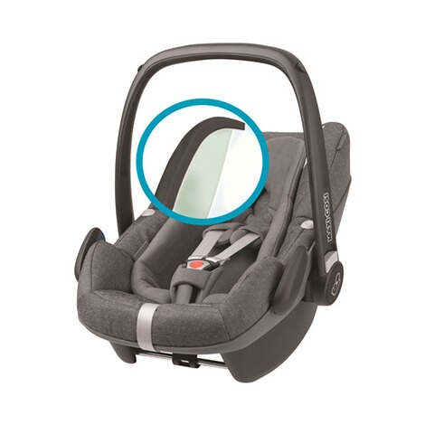 Maxi-Cosi  Pebble Plus i-Size Babyschale  sparkling grey 4