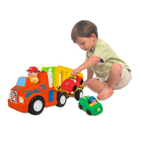 KIDDIELAND  Camion transport de voitures 2