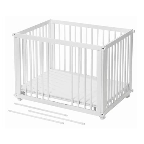 easy baby babybett mit matratze spannbetttuch sleep play 96x67 cm online kaufen baby walz. Black Bedroom Furniture Sets. Home Design Ideas