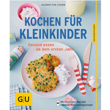gu kochbuch kochen f r kleinkinder online kaufen baby walz. Black Bedroom Furniture Sets. Home Design Ideas