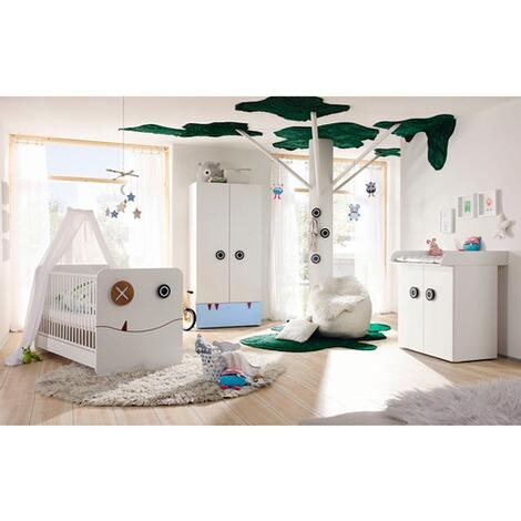 HÜLSTA NOW! MINIMO La chambre bébé MINIMO (lit, commode à langer à 2 ...