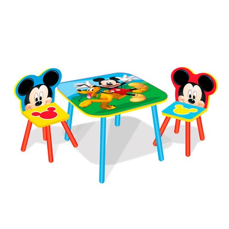 Worlds Apart DISNEY MICKEY MOUSE FRIENDS Lensemble Table Chaise Enfants