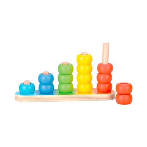 BINO 15-tlg. Holzsteck- und Farbspiel online kaufen | baby-walz