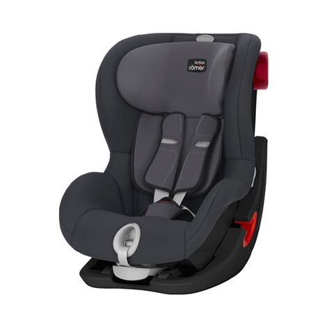 Britax Römer  King II LS Kindersitz  Black Series storm grey 1