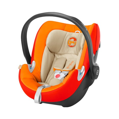 Cybex PLATINUM Aton Q Babyschale  Autumn Gold 1