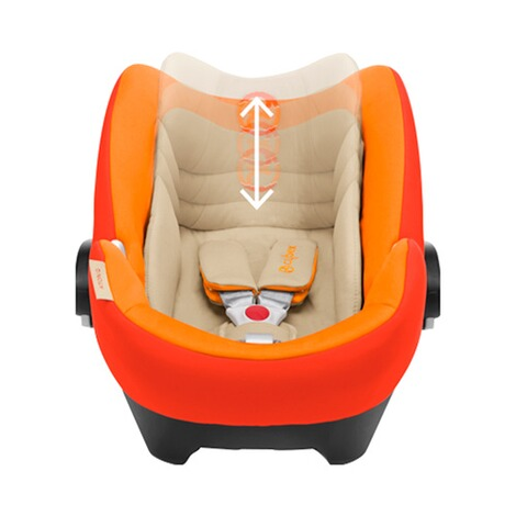 Cybex PLATINUM Aton Q Babyschale  Autumn Gold 2