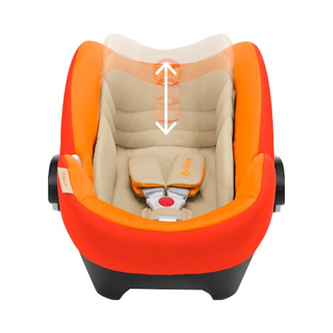 Cybex PLATINUM Aton Q Babyschale  Autumn Gold 3
