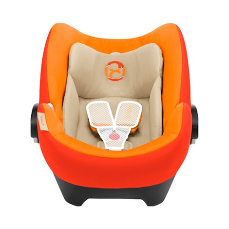 Cybex PLATINUM Aton Q Babyschale  Autumn Gold 4