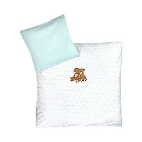 z llner bettw sche b renfreunde 35x40 80x80 cm online kaufen baby walz. Black Bedroom Furniture Sets. Home Design Ideas