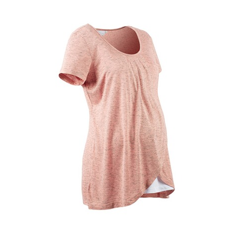2hearts WE LOVE BASICS Umstands- und Still-T-Shirt 2in1  Rose Bubbles 2