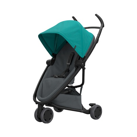 Quinny ZAPP FLEX Buggy mit Liegefunktion  Green on Graphite 1