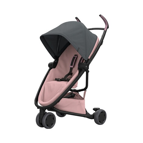 Quinny ZAPP FLEX Buggy mit Liegefunktion  Graphite on Blush 1