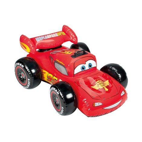 INTEX DISNEY CARS La voiture gonflable Ride On 1