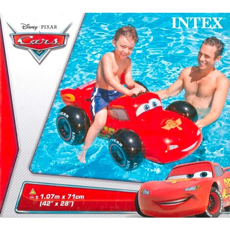 INTEX DISNEY CARS La voiture gonflable Ride On 3