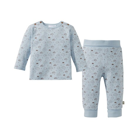Bornino BASICS Le pyjama long  bleu 1