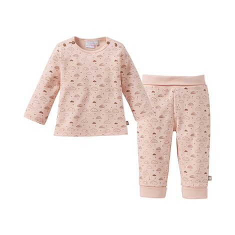 Bornino BASICS Le pyjama long  rose 1