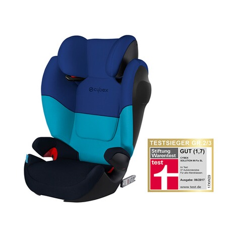 Cybex SILVER Solution M-Fix SL Kindersitz  Blue Moon 1