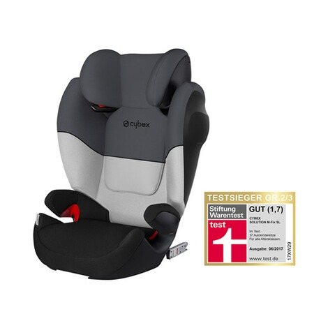 Cybex SILVER Solution M-Fix SL Kindersitz  Grey Rabbit 1