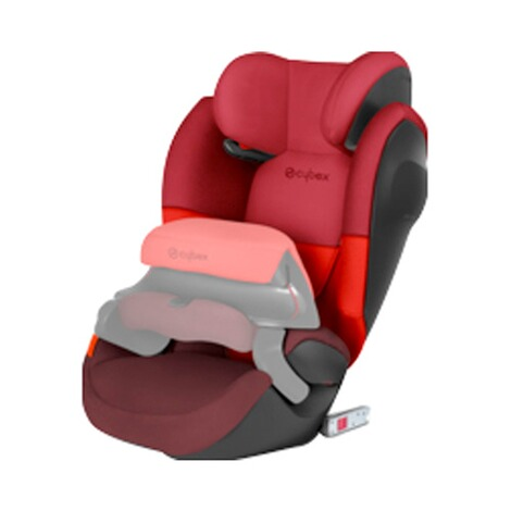Cybex SILVER Pallas M-Fix SL Kindersitz  Rumba Red 2