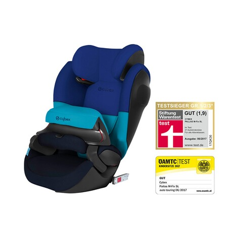 CYBEX SILVER Pallas M-Fix SL Kindersitz  Blue Moon 1