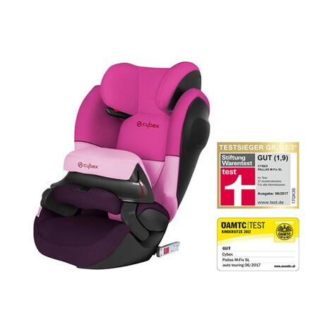 Cybex SILVER Pallas M-Fix SL Kindersitz  Purple Rain 1
