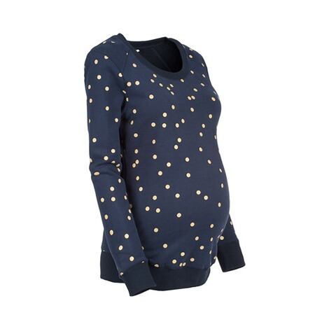 2hearts  Umstands-Pullover Golden Dots 2