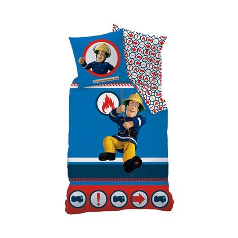 cti feinbiber bettw sche feuerwehrmann sam 80x80 135x200 cm online kaufen baby walz. Black Bedroom Furniture Sets. Home Design Ideas