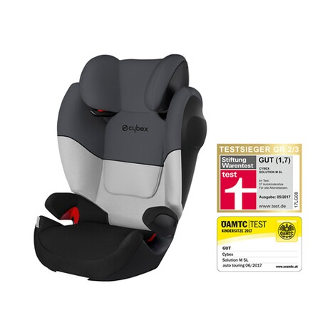 Cybex SILVER Solution M SL  gray rabbit 1