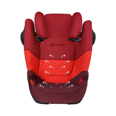 Cybex SILVER Solution M SL  rumba red 5