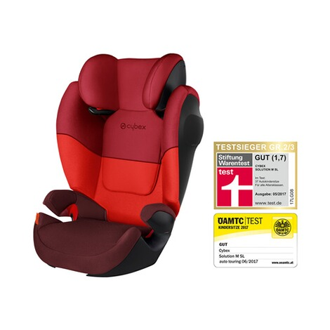 Cybex SILVER Solution M SL  rumba red 1