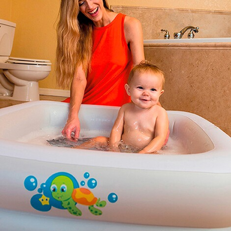 Baby pool dusche for Dusche fur pool