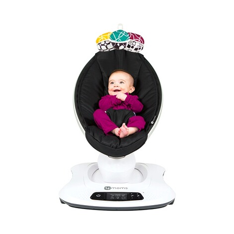 4moms MAMAROO 4 Babywippe 3D  Classic Black 8