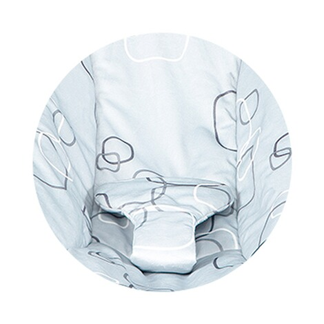 4moms MAMAROO 4 Babywippe 3D  Silver Plush 6