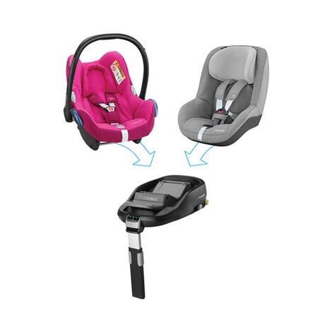 MAXI-COSI CABRIOFIX Babyschale  Frequency Pink 6
