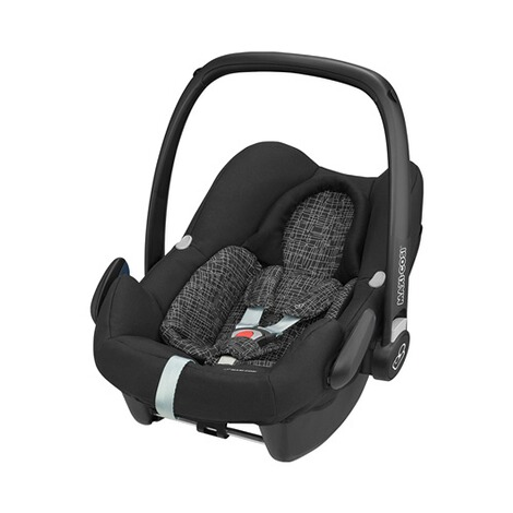 Maxi-Cosi ROCK i-Size Babyschale  Black Grid 1