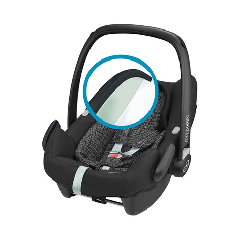 Maxi-Cosi ROCK i-Size Babyschale  Black Grid 2