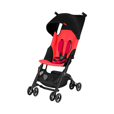 gb GOLD Pockit+ Buggy mit Liegefunktion  Cherry Red 1