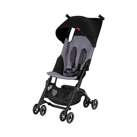 gb GOLD Pockit+ Buggy mit Liegefunktion  Silver Fox Grey 1