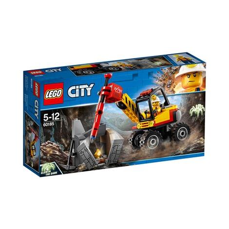 Lego® City Piqueur 60185 Marteau L'excavatrice Avec ZukXOwPiT
